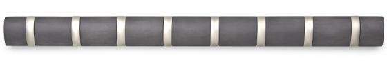 Вешалка настенная горизонтальная Flip 8 крючков 82X7 CM 2