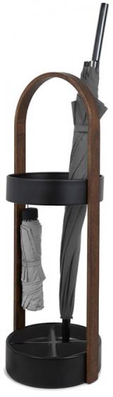 Подставка для зонтов Hub 24X24X67 CM чёрный/орех 1