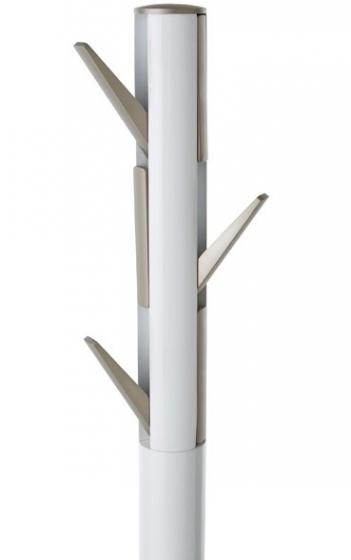 Вешалка flapper напольная 57X57X165 CM белая 4