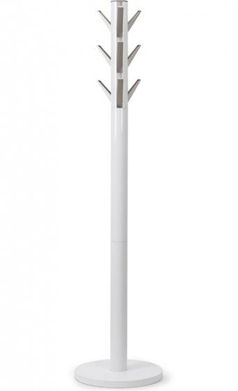 Вешалка flapper напольная 57X57X165 CM белая 2