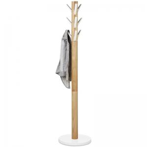 Вешалка flapper напольная 57X57X165 CM белая/дерево