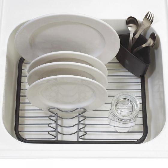 Сушилка для посуды Sinkin серая/никель 2