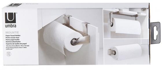 Держатель бумажных полотенец mountie никель 15