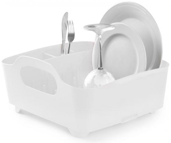 Сушилка для посуды Tub белая 1