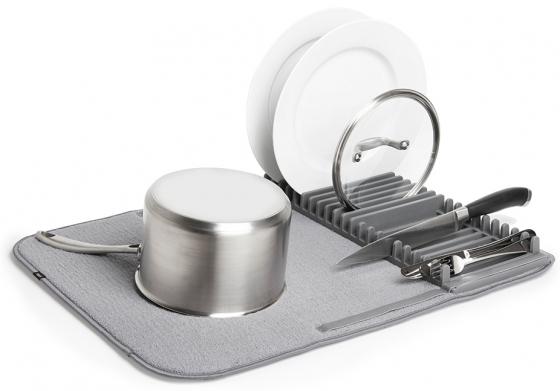 Коврик для сушки посуды Udry тёмно-серый 2