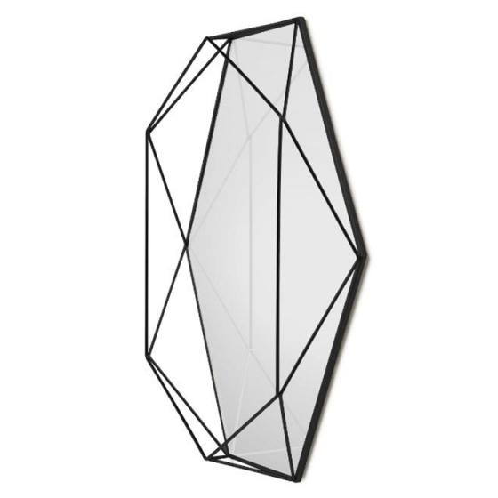 Зеркало настенное prisma 43X57X9 CM черное 2
