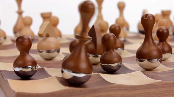 Шахматный набор wobble 3
