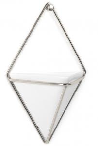 Декор для стен trigg 11X6X19 CM белый/никель