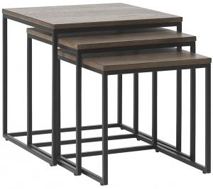 Набор столиков Rivoli 50X50X50 / 45X45X45 / 40X40X40 CM