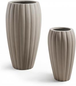 Набор из 2 больших ваз Linn 74X42X42 / 50X29X29 CM
