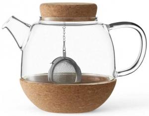 Чайник из стекла и пробки Cortica 800 ml