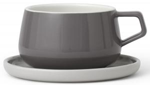 Чайная пара Ella 300 ml серого цвета