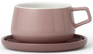 Чайная пара Ella 300 ml розового цвета