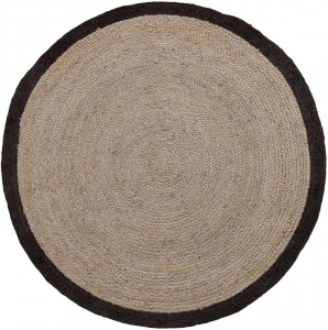 Ковёр черно-коричневый Samy Ø200 CM