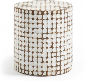 Столик с покрытием из волокон кокоса Coconut 40X40X42 CM