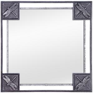 Зеркало в стальной раме Dragonfly 62X62 CM