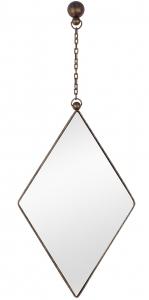 Зеркало на подвесе Loft Rhombus 41X104 CM