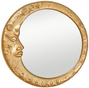 Зеркало декоративное Gold Moon Ø62 CM