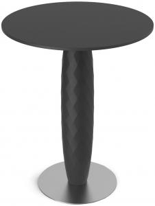 Барный столик Vases 60X60X74 CM чёрного цвета
