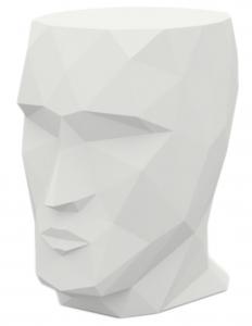 Стол в форме головы Adan table 49X68X70 CM белый