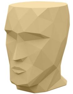 Табурет в форме головы Adan stool 30X41X42 CM бежевый