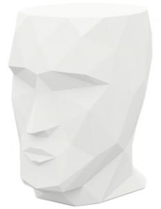 Табурет в форме головы Adan stool 30X41X42 CM белый