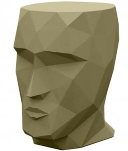 Табурет в форме головы Adan stool 30X41X42 CM хаки