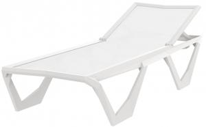 Шезлонг Voxel 200X75X35 CM белого цвета