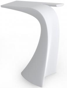 Барный стол Wing 76X50X100 CM белого цвета
