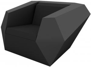 Кресло Faz 120X100X70 CM графитовое