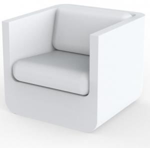 Кресло Ulm 82X81X82 CM белого цвета