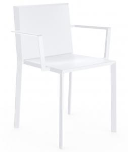 Пластиковый стул с подлокотниками Quartz 57X52X79 CM