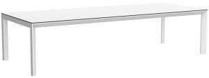 Cтол Frame с алюминиевой столешницей 300X120X74 CM