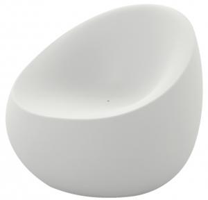 Кресло Stones 88X81X78 CM белого цвета