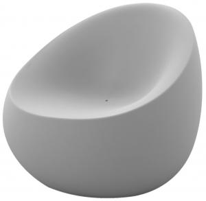 Кресло Stones 88X81X78 CM серого цвета