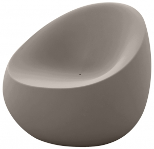 Кресло Stones 88X81X78 CM серо-коричневого цвета