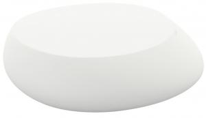 Журнальный столик Stones 87X83X25 CM белого цвета