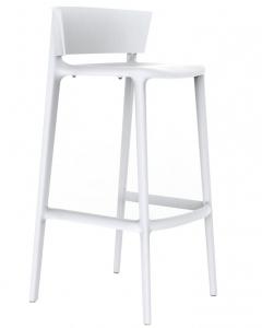 Барный стул Africa 48X47X95 CM белого цвета