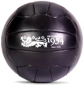 Декоративная интерпретация мяча Swiss WC Match-Ball чёрного цвета