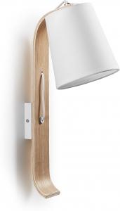 Настенный светильник Percy 43X24X15 CM белый
