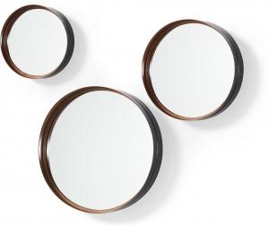 Набор из 3 круглых зеркал Rem Ø30 Ø41 Ø51 CM