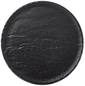 Тарелка Slatestone Black Ø33 CM