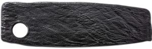 Блюдо для подачи Slatestone Black 33X10 CM