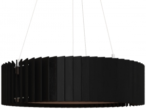 Люстра Ротор 45X12 CM цвет чёрный