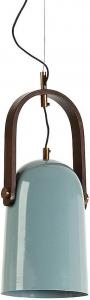 Подвесной светильник Zanee 20X20X46 голубой