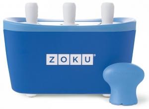 Набор для приготовления мороженого Triple Quick Pop Maker синий