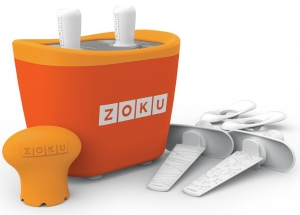 Набор для приготовления мороженого Duo Quick pop maker оранжевый