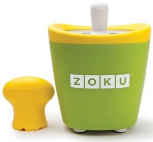 Набор для приготовления мороженого Single Quick Pop Maker зеленый