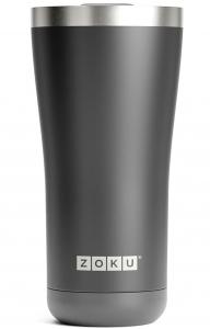 Термокружка Zoku 550 ml чёрная