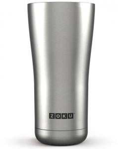 Термокружка zoku 550 ml металлик
